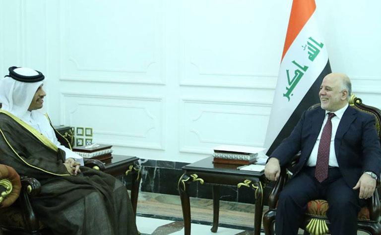 Qatar Invites Abadi to Visit, Opens New Page with Iraq