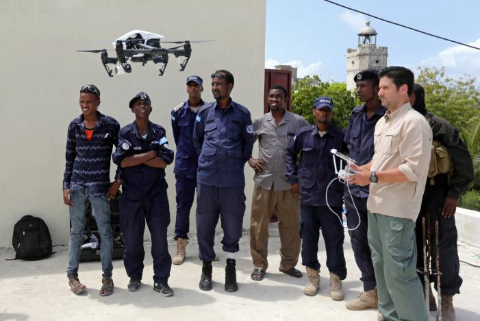 Somali Police Receive US Drones to Combat Bombings