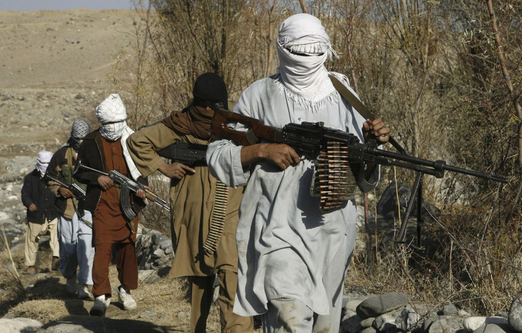 Four Taliban Militants Killed in Afghanistan