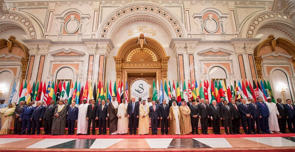 Arab-Islamic-US Partnership against Extremism and Iran