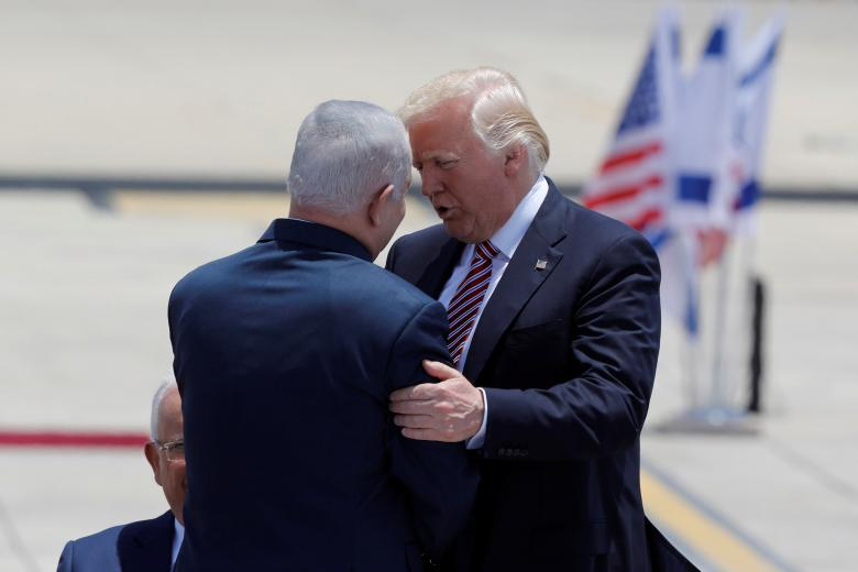Trump Sees 'Rare Opportunity' for Peace as he Kicks Off Israel Trip