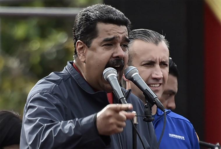 Maduro Tells Trump to 'Get Pig Hands' out of Venezuela