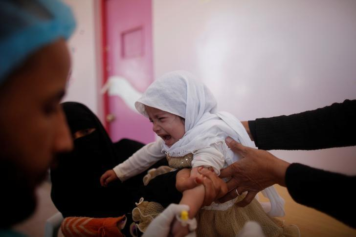 Hundreds of Cholera Cases in Yemen