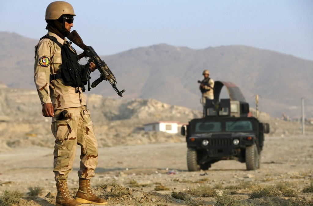 ISIS Gunmen Attack State TV Station, Afghan Forces Recapture District Center from Taliban
