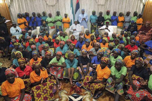 Nigeria President Meets Freed Chibok Girls, Vows Support