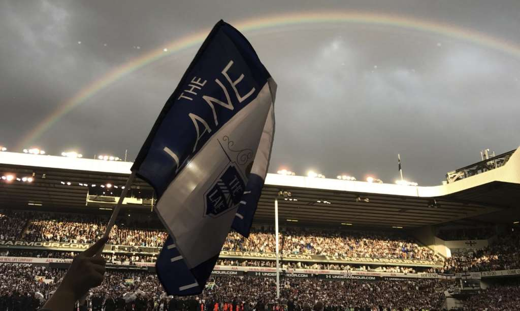 Rainbows and Tears on Tottenham Hotspur's Last Day at White Hart Lane