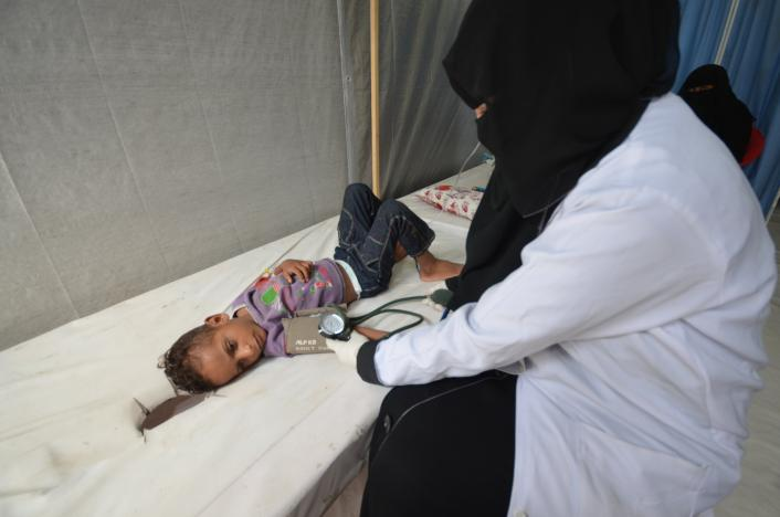 8,500 Potential Cholera Patients Indicate Serious Outbreak in Yemen
