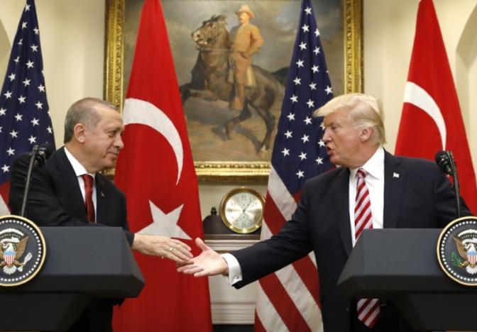 Trump-Erdogan Hold Talks, Agree on Fighting Regional Terrorism