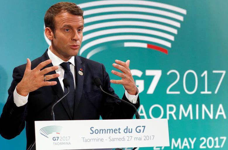 Macron to Meet Russia's Putin to Settle Syria, Ukraine Disagreements