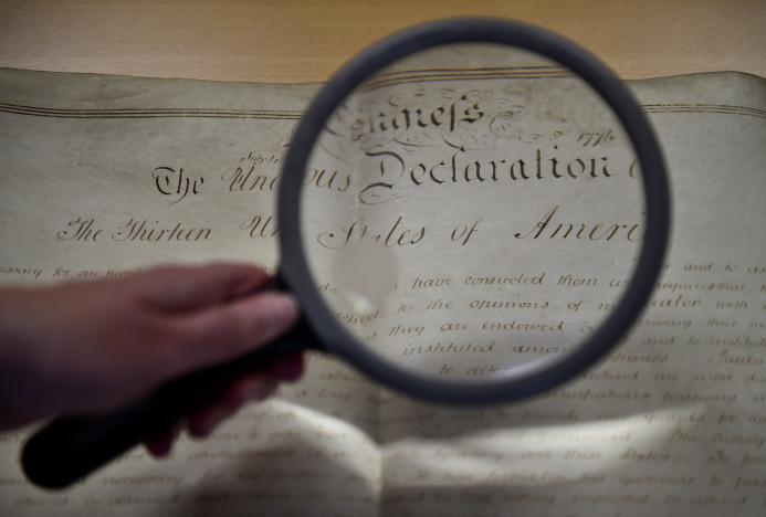 How Did a Copy Of US Declaration of Independence Get to Southern England?