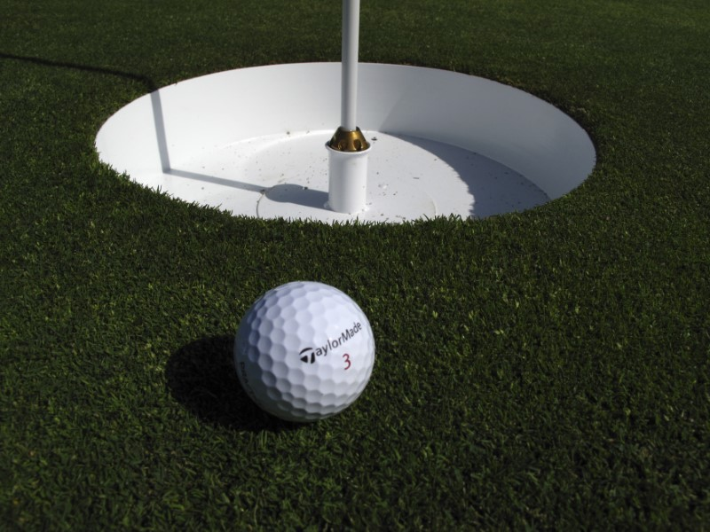 Golf Game for Stroke Victims