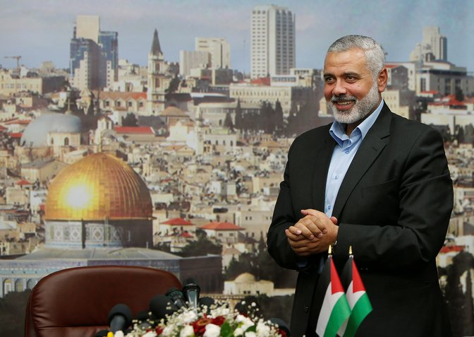 Hamas Elects Haniyeh as New Political Chief
