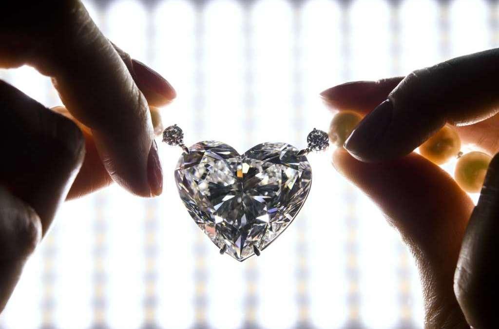 New Record for Heart-Shaped Diamond Sold at Christie's Auction