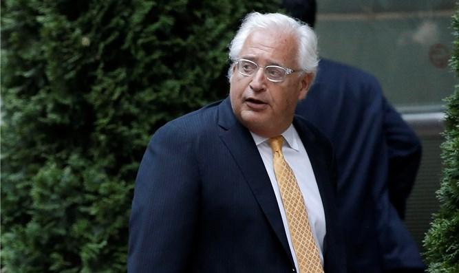 US Ambassador Friedman Arrives to Israel