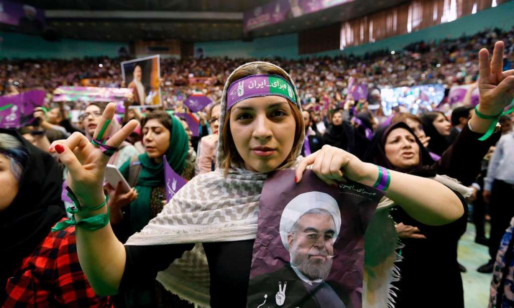 Rouhani Receives Khatami's Support, Hints of Opening up to Trump