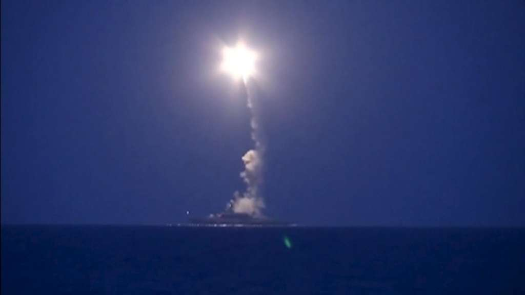 Russia Fires Cruise Missiles at ISIS Targets Near Palmyra