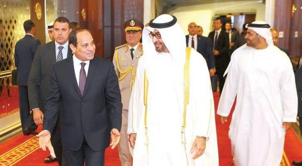 Sisi, Abu Dhabi Crown Prince Discuss Regional Issues, Dangers of Terrorism