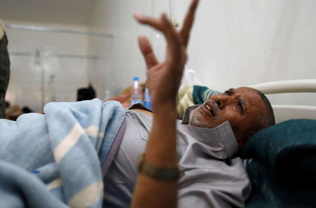 WHO: Yemen Cholera Cases Could Hit 300,000 within Six Months