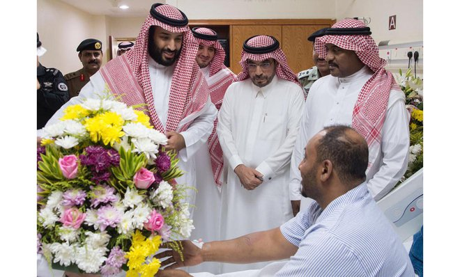 Crown Prince: We Take Pride in Sacrifices Made by Security Forces to Safeguard the Two Holy Mosques