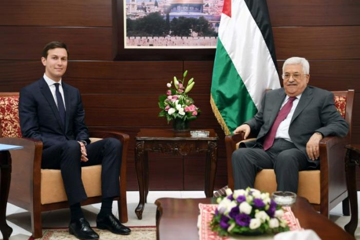Tense Meeting between Abbas, Trump's Envoys