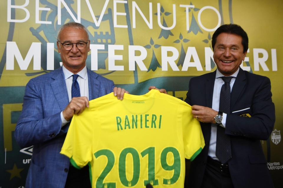 Claudio Ranieri Has a New Job: Repeat the Leicester City Miracle at Nantes