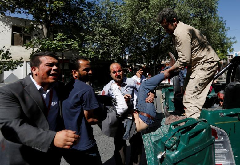 Massacre in Kabul's Diplomatic Quarter on Eve of Trump's Decision