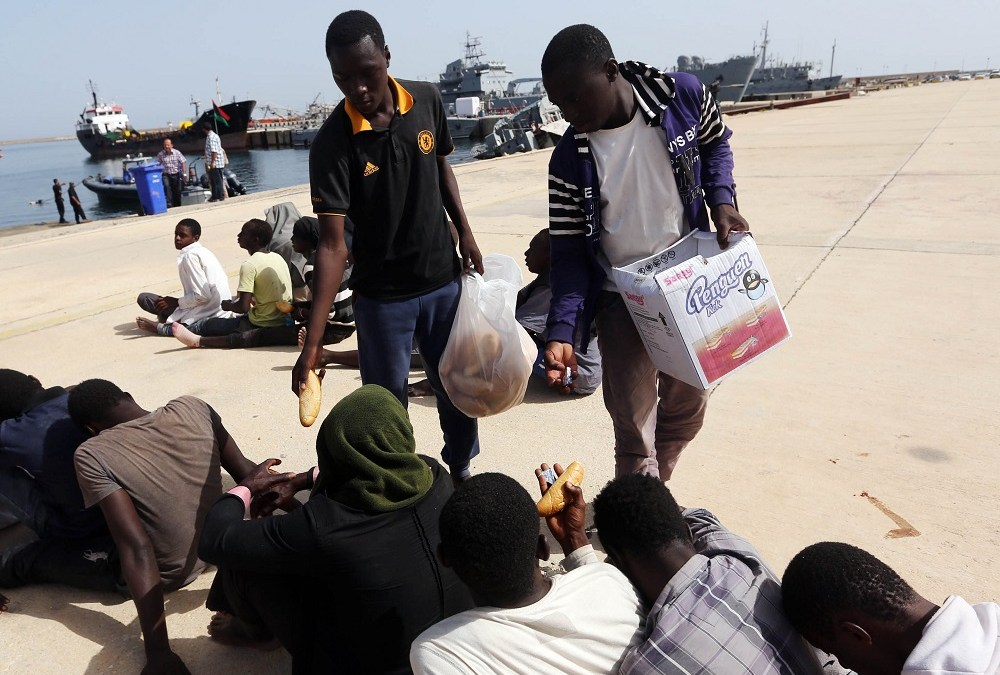 Detained Migrants Show World Signs of their Abuse in Libya