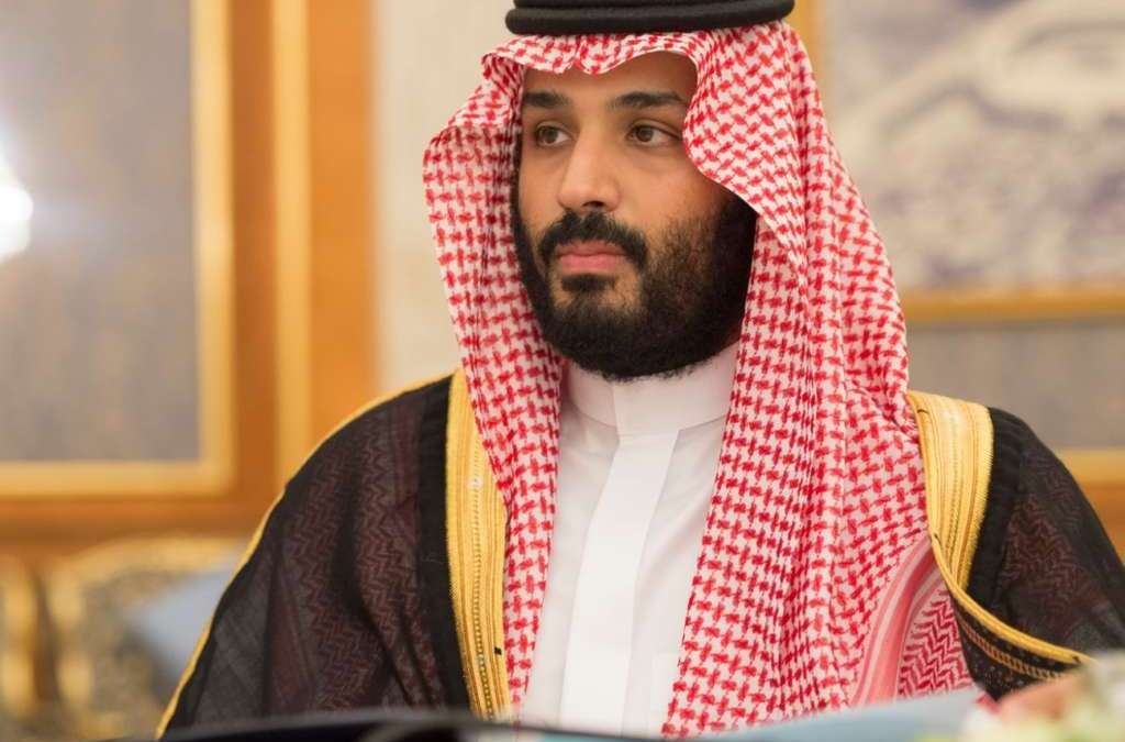 Saudi Deputy Crown Prince Discusses Counter-Terrorism with Tillerson