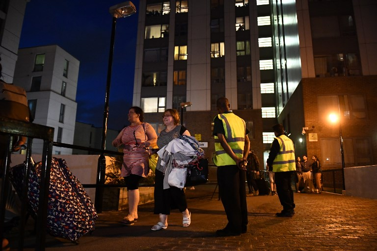 Five London Tower Blocks Evacuated over Safety Fears after Grenfell Fire