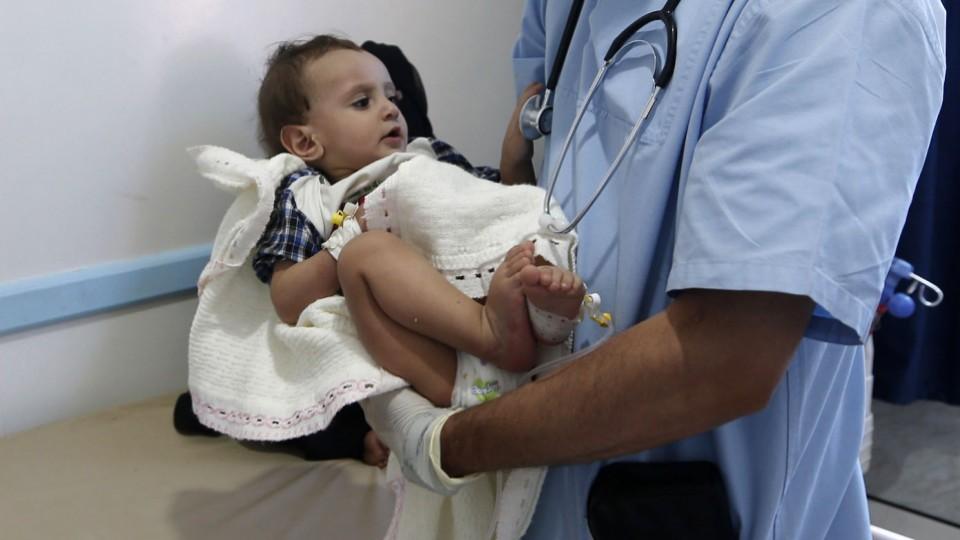 UN: 70,000 Cholera Cases in Yemen in One Month