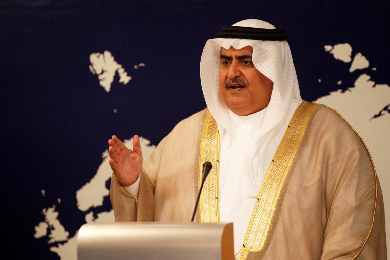 Bahrain FM:  Qatar Must Distance Itself from Iran