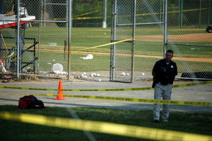 Gunman Wounds Several at Alexandria, Virginia, Baseball Park