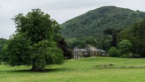 This 34-acre estate is listed for $4.74 million (£3.75 million) and sits on the eastern shore of Lake Windermere, part of the Lake District in northwest England. Known as the Town Head, the property has been owned by the same family since 1790. Credit: Andrew Testa for The New York Times