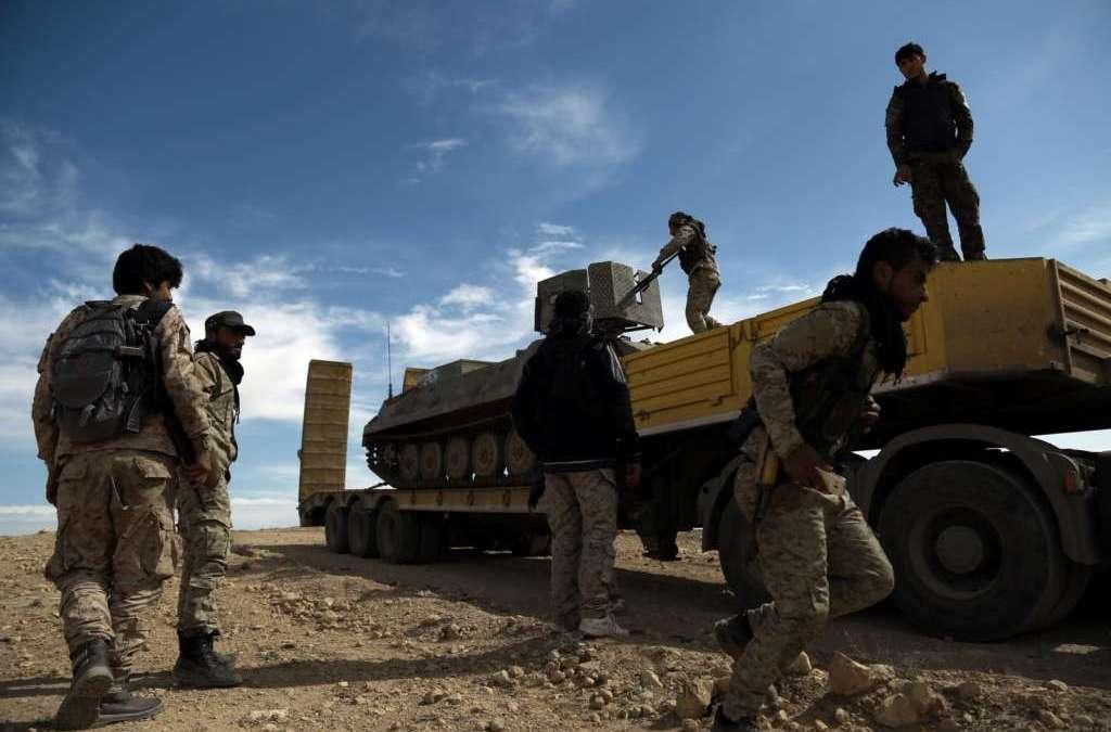 More Civilians Flee Syria's Raqqa as Battle Looms