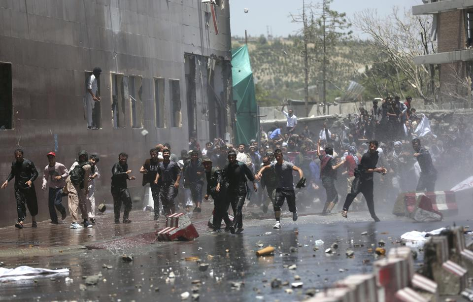 Afghan Authorities Lock Down Kabul after Deadly Protest