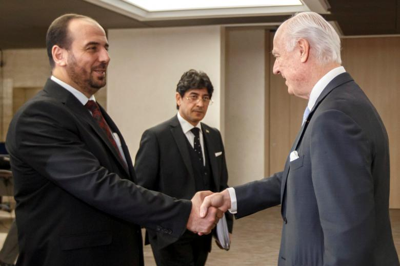 HNC Leader: Assad Regime Rejects Political Transition, 'We Are Betting on Russia'