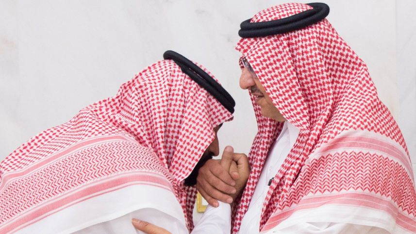 Emirs, Ambassadors Take Pledge on Behalf of Crown Prince