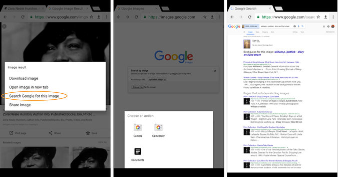 How to Use Google Image Search on the Go