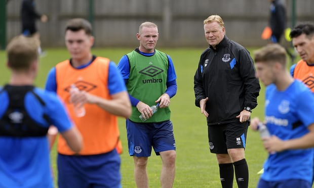 Wayne Rooney Rekindles His Everton Love Affair, Wants to Play Up front