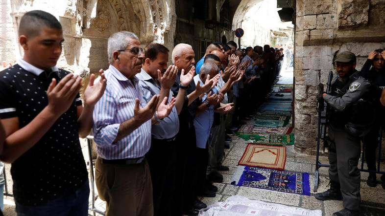 Body Search Brings Back Tension to Aqsa Mosque