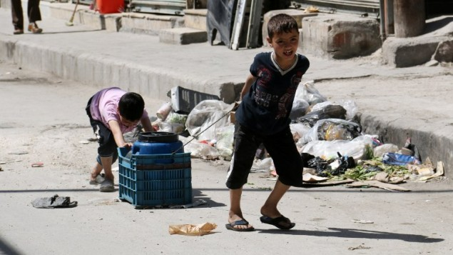 Fears over a 'Lost Generation' as Syrian Children are Forced to Work