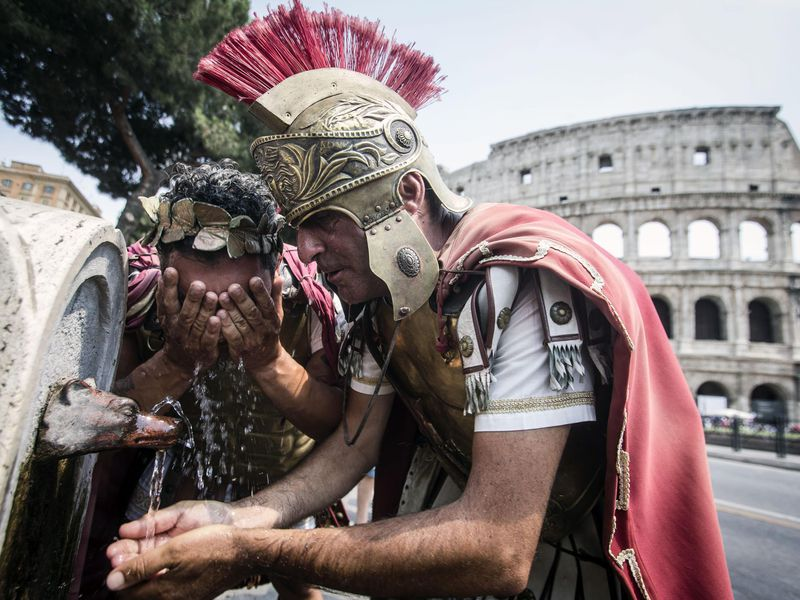 Rome Closes Drinking Fountains to Cope with Drought