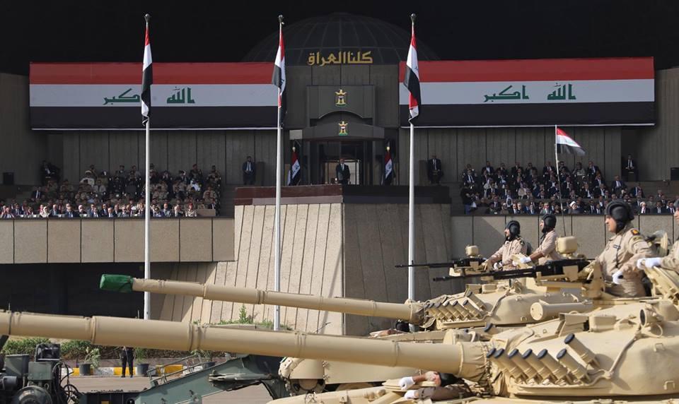Iraq PM Abadi Attends Military Parade Celebrating Mosul Victory