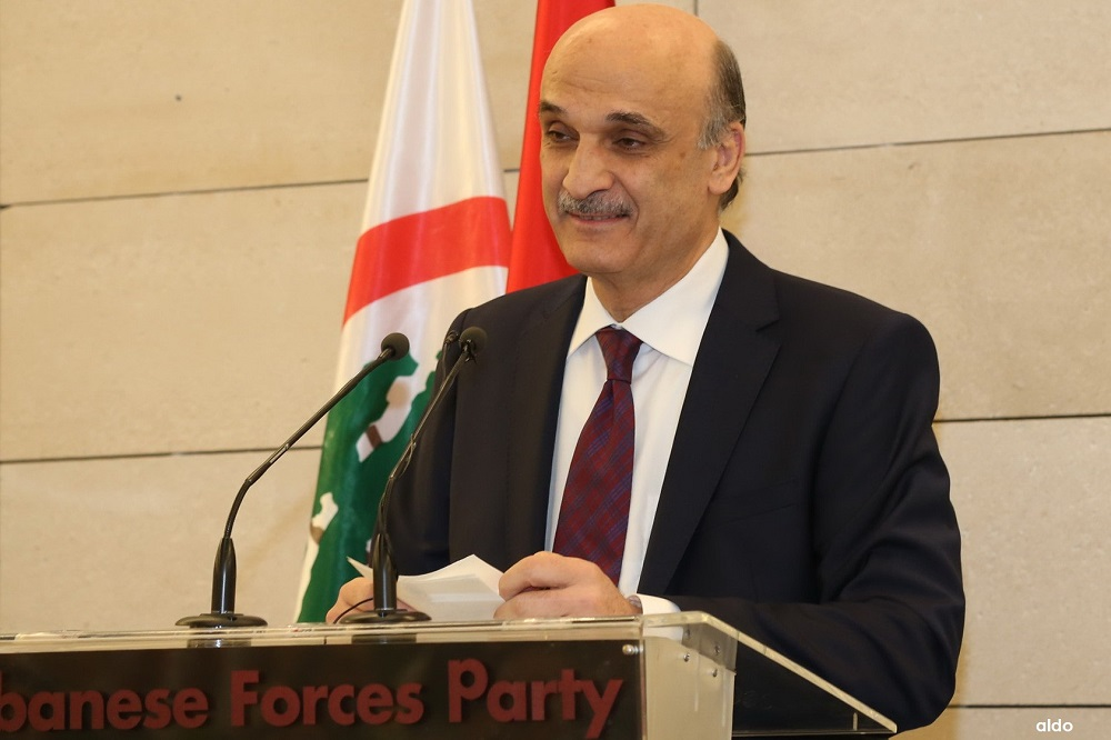 Geagea Urges 'Hezbollah', Iran to Abandon 'Wilayet al-Fakih' Dream