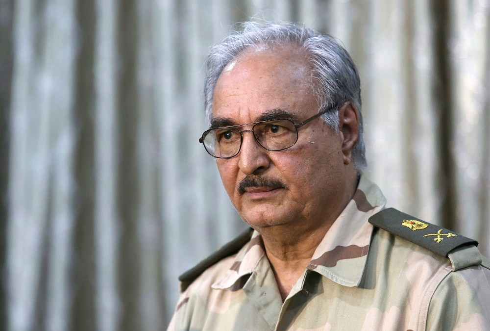 Haftar Threatens to Resort to Army to End Libya's Political Crisis