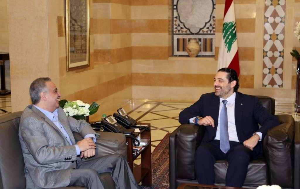 Lebanon's Hariri, Arslan Stress Need to Finalize Issue of Internally Displaced