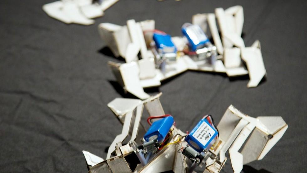 US Researchers Develop Battery-Less Foldable Robots
