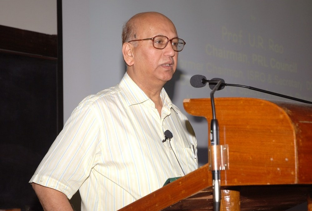 Indian Space Scientist Udupi Ramachandra Rao Dead at 85