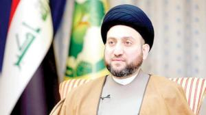 Ammar al-Hakim, leader of the Iraqi National Alliance party.