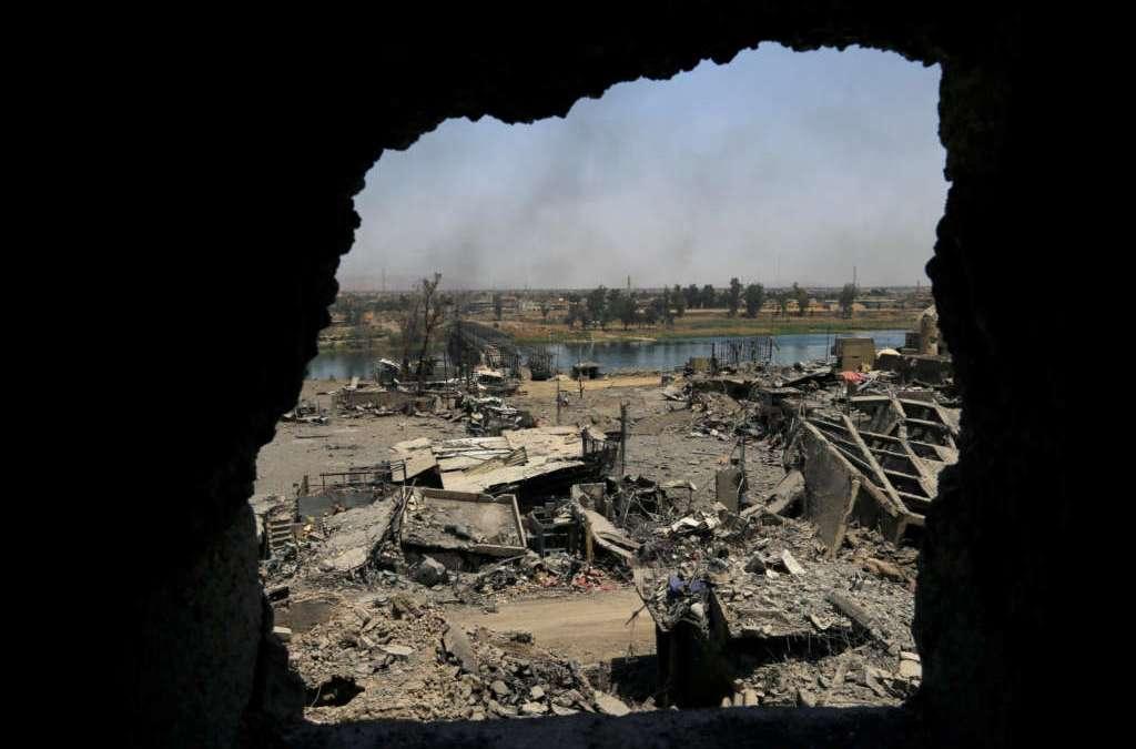 Zebari: 40,000 Civilians Killed in Mosul Battle